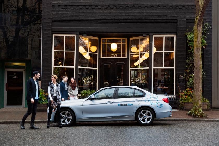 Park & Drop BMW