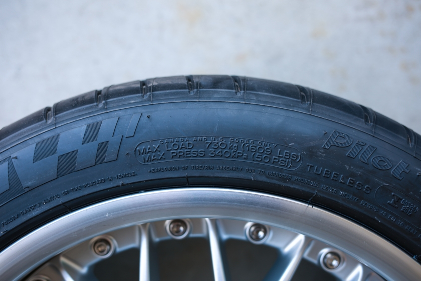 Pressure Load Tire Rating