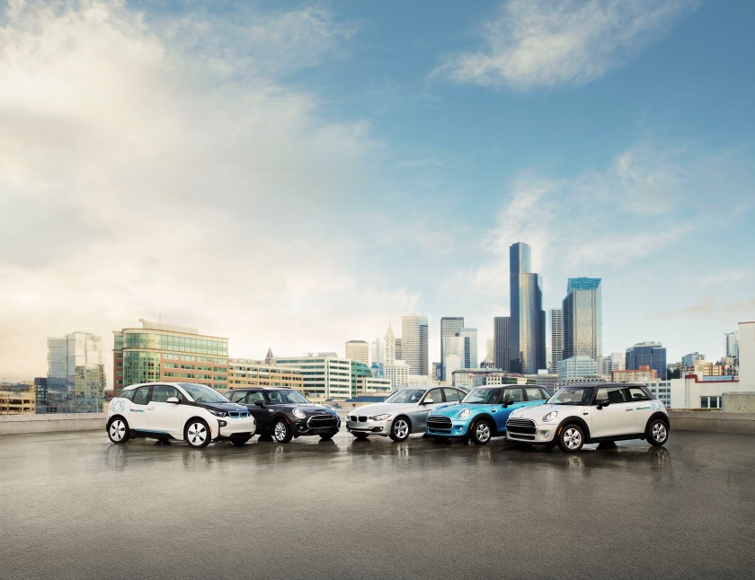 ReachNow Car Sharing BMW