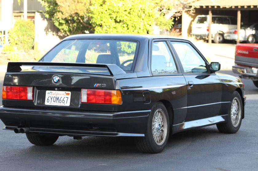 1991 M3 Rear Body