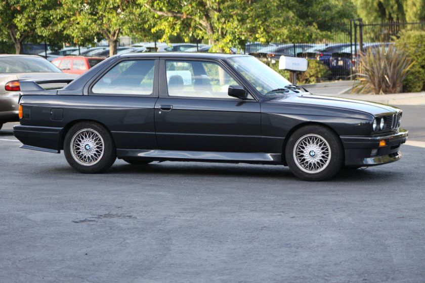 1991 M3 Side View