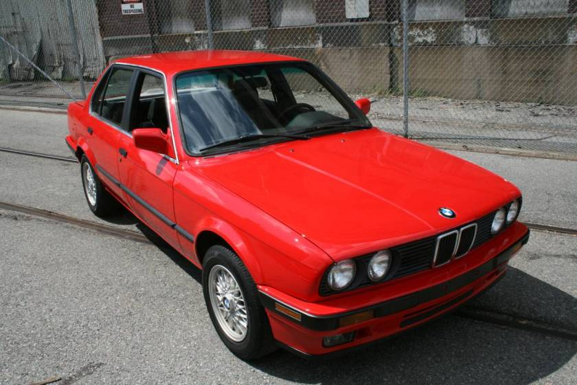 Rare Slick Top E30 1991 318i Sedan In Brilliantrot Bimmerzeit