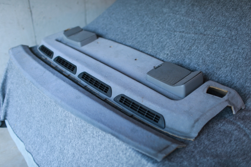 Parcel Shelf E30 M3 Extension