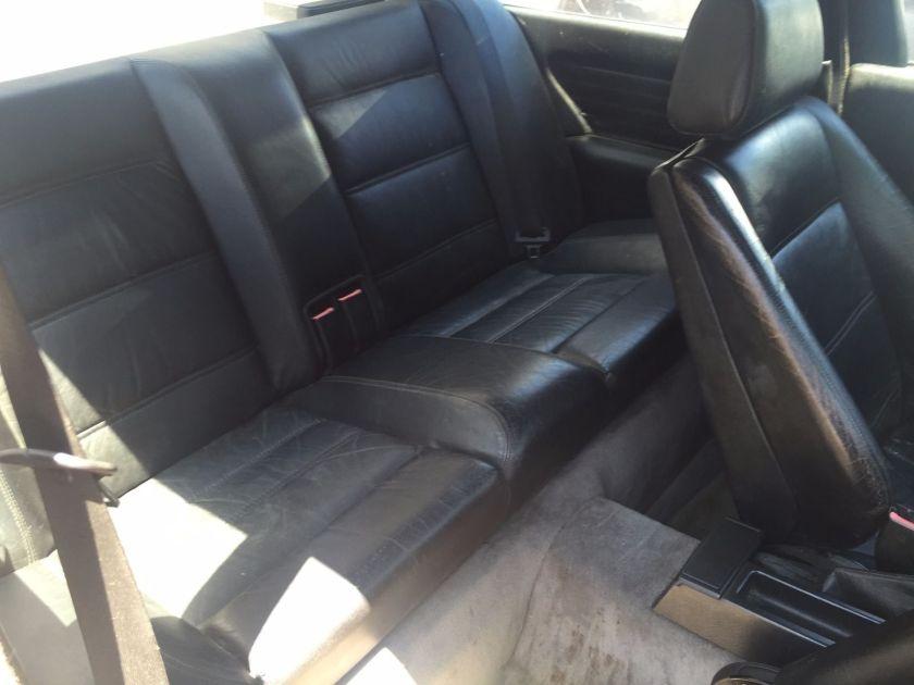 Worn M3 interior